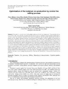 Alfonso et al._2015_Optimization of the tantalum ore production by control the milling proce.pdf.jpg