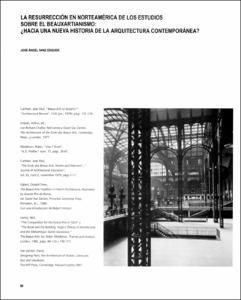 La resurrecci n en norteam rica de los estudios sobre el for Historia de la arquitectura pdf