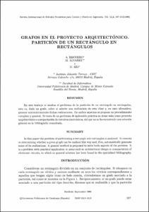 Grafos en el proyecto arquitect nico partici n de un for Proyecto arquitectonico pdf