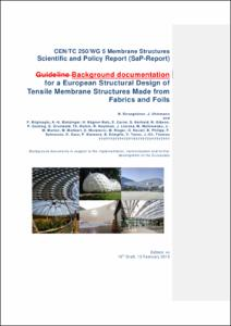 CEN/TC 250/WG 5 Membrane Structures Scientific and Policy Report