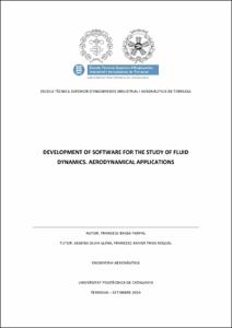 Development of software for the study of fluid dynamics