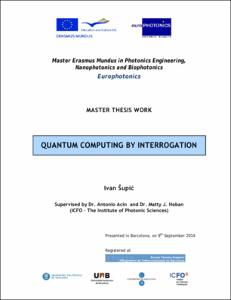 quantum key distribution thesis Long-distance quantum key distribution with imperfect  guidance helped me throughout my research and writing of this thesis  quantum key distribution (qkd) is .