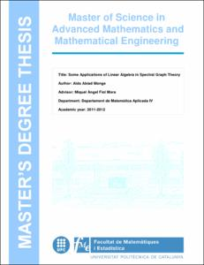 Some applications of linear algebra in spectral graph theory
