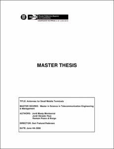 Phd thesis antennas