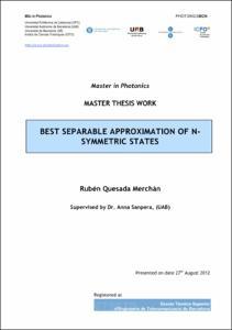Tripartite thesis