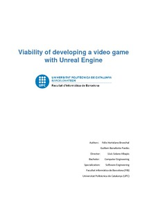 Viability of developing a video game with Unreal Engine